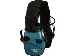 Howard Leight Impact Sport Electronic Earmuffs (NRR 22 dB) Teal