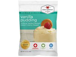 Wise Food Long Term 25 Year 4 Serving Vanilla Pudding Freeze Dried Food