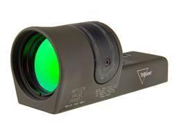 Trijicon RX30-C Reflex Sight 1x 42mm 6.5 MOA Dual-Illuminated Amber Dot Cerakote Olive Drab Green