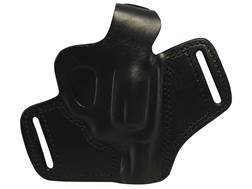 "Bulldog Deluxe Molded Holster with Thumb Break Small Fits Revolvers with 2"" Barrels Right Hand Leather Black"