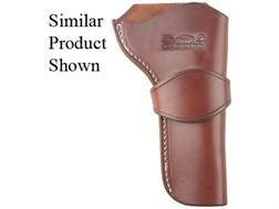 "Van Horn Leather High Ride Single Loop Crossdraw Holster 5.5"" Single Action Right Hand Leather Chestnut"