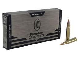 Nosler Custom Ammunition 223 Remington Match 55 Grain Ballistic Tip Varmint Box of 20