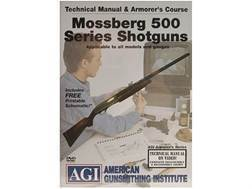 "American Gunsmithing Institute (AGI) Technical Manual & Armorer's Course Video ""Mossberg 500 Series Shotguns"" DVD"