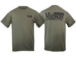 "MidwayUSA T-Shirt Short Sleeve Cotton Olive Drab Medium (40"")"
