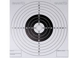 "Gamo Airgun Target 5-1/2"" x 5-1/2"" Bullseye Package of 100"