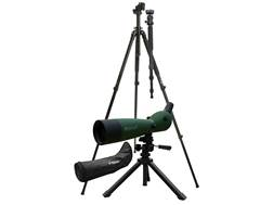 Konus Spotting Scope 20-60x 80mm with Tripod, Photo Adapter, Soft Case, and Tripod Armored Green