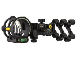 "Trophy Ridge Peak 5-Pin Bow Sight with Light .019"" Pin Diameter Right Hand Black"