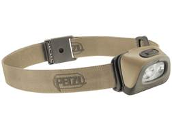 Petzl Tactikka + RGB  Headlamp LED with 3 AAA Batteries Desert
