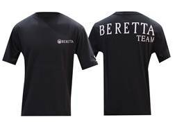 Beretta Team Short Sleeve T-Shirt Cotton Black Medium