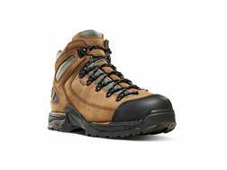 "Danner 453 5.5"" Waterproof Uninsulated Hiking Boots Leather and Nylon Dark Tan Men's 11 D"