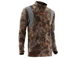 NOMAD Men's Heartwood Base Layer Shirt Long Sleeve Polyester and Nylon Kryptek Banshee Camo