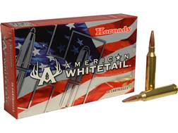 Hornady American Whitetail Ammunition 7mm Remington Magnum 154 Grain Interlock Spire Point Box of 20