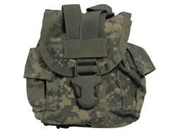 Military Surplus MOLLE II Canteen/General Purpose Pouch Nylon Army Universal Camo