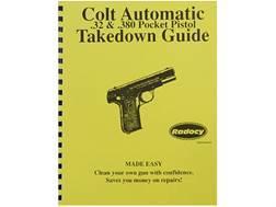 """Radocy Takedown Guide """"Colt Pocket Auto"""" - Blemished"""
