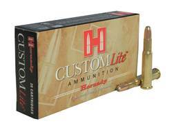 Hornady Custom Lite Ammunition 30-30 Winchester 150 Grain Round Nose Box of 20