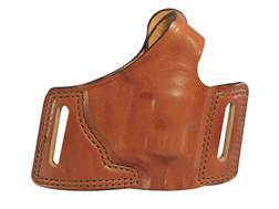 Bianchi 5 Black Widow Holster Right Hand Ruger LCR Leather Tan