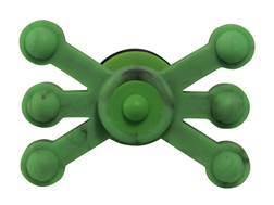 Bowjax Monster Jax Solid Limb Bow Vibration Dampener Rubber Fluorescent Green Pack of 2