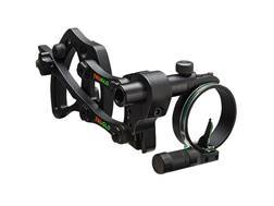 TRUGLO Adustable Pendulum 1-Pin Bow Sight .029 Diameter Pin Black