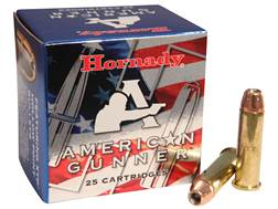 Hornady American Gunner Ammunition 357 Magnum 125 Grain XTP Jacketed Hollow Point Box of 25