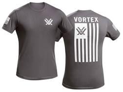 Vortex Patriot T-Shirt Grey Cotton