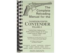 "Loadbooks USA ""Thompson Center Contender Volume 2"" Reloading Manual Calibers 30 M1 Carbine to 45-..."