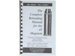 "Loadbooks USA ""41 Remington Magnum"" Reloading Manual"