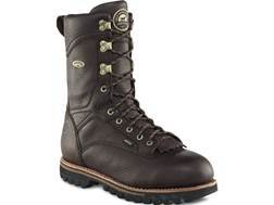 "Irish Setter Elk Tracker 12"" Waterproof 1000 Gram Insulated Hunting Boots Leather Brown Men's 13 D"