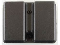 Uncle Mike's Double Magazine Belt Pouch for Double Stack Magazine Belt Loop Kydex Black