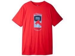 Mountain Khakis Men's Brewski T-Shirt Short Sleeve Cotton Red Pepper Large 42-45