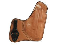 Bianchi 100T Professional Tuckable Inside the Waistband Holster Ruger LC9 with Crimson Trace Leather Tan