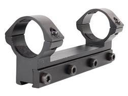 RWS Lock Down Scope Mount with Integral 30mm Rings Rimfire and Airgun Gloss