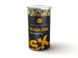 SK Magazine Ammunition 22 Long Rifle 40 Grain Lead Round Nose Can of 500