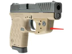 LaserLyte TGL Red Laser Sight DiamondBack 380 and 9mm Tan