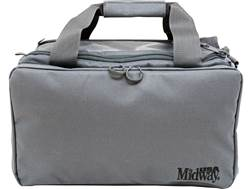 MidwayUSA Compact Competition Range Bag PVC Coated Polyester Charcoal