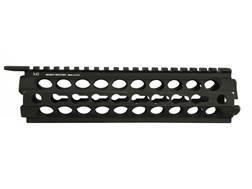 Midwest Industries K-Series 2-Piece KeyMod Handguard AR-15 Mid Length Aluminum Black