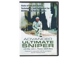 """Advanced Ultimate Sniper: State-of-the-Art Tactics, Techniques, and Equipment for Military and Police Snipers"" DVD with Maj. John L. Plaster"