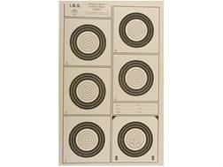 National Target International Bench Rest Shooters Target IBS 100 YD Hunter Rifle Paper Pack of 100
