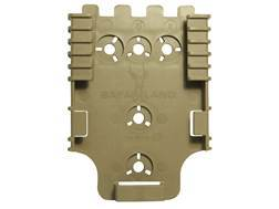 Safariland Quick Locking System QLS 22 Receiver Plate Polymer Flat Dark Earth