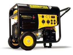 Champion 7500/9500 Watt Gas Powered Generator with 50 AMP Electric Start