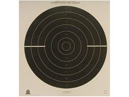 NRA Official International Pistol Targets B-39 50' Rapid Fire Paper Package of 100