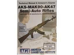 "American Gunsmithing Institute (AGI) Technical Manual & Armorer's Course Video ""AKS-MAK-90-AK-47 ..."