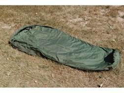 "Military Surplus MSS Patrol 30 Degree Mummy Sleeping Bag 37"" x 92"" Nylon Green"