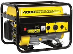 Champion 3500/4000 Watt Gas Powered Generator