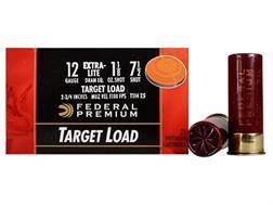 "Federal Premium Gold Medal Extra-Lite Ammunition 12 Gauge 2-3/4"" 1-1/8 oz #7-1/2 Shot"