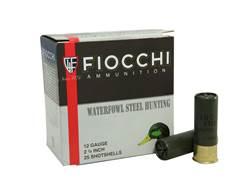"Fiocchi Exacta Ammunition 12 Gauge 2-3/4"" 1-1/8 oz #3 Steel Shot"