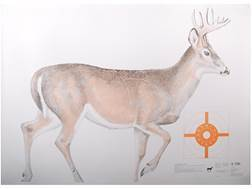 NRA Official Lifesize Game Targets White Tail Deer Paper Package of 12