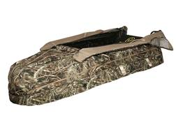 Hard Core Man Cave Layout Blind Realtree Max-5 Camo
