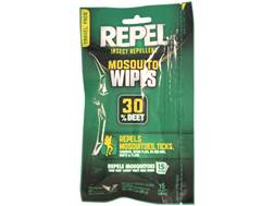 Repel Mosquito Wipes Insect Repellent Pack of 15