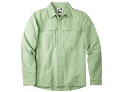 Mountain Khakis Men's Granite Creek Shirt Long Sleeve Nylon Celery Medium 39-41