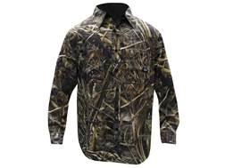 Walls Legend Men's Cape Back Shirt Long Sleeve Cotton Realtree Max-5 Camo Medium 38-40